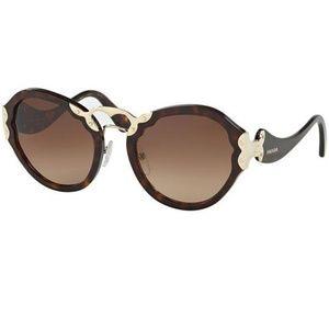 Prada Sunglasses Havana w/Brown Gradient Lens